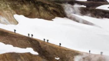 The Laugavegur Trail in Iceland | Rachelle Johnston