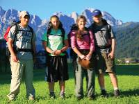 Family group in the Dachstein