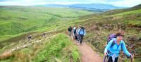 Ascending Conic Hill, Scotland