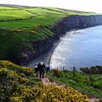 Ascending Fleswick Bay on the Coast to Coast near St Bees | John Millen
