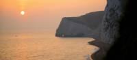 The Bat's Head cliffs near Lulworth, Dorset