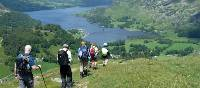 Enjoy the spectacular views above Patterdale on the Coast to Coast walk