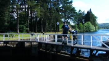 Crossing the locks | Chris Booth
