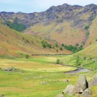 View down the Langstrath Valley   John Millen
