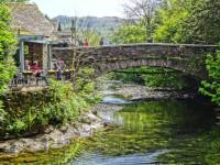 Grasmere Bridge provides a picturesque rest stop on the Coast to Coast Trail |  <i>John Millen</i>