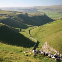 The high dales between Grassington and Hubberholme