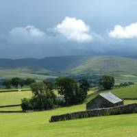 Looking to the Howgill Fells, Northern England