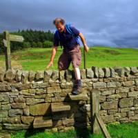 A crossing over Hadrian's Wall | John Millen