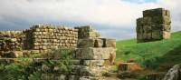 Roman remains  at Housesteads Fort