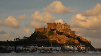Chateau Le Mont Orgueil and Gorey Harbour | John Millen