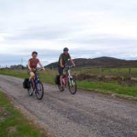 Cycling Inverness to Drum   Scottish Highland Cycle