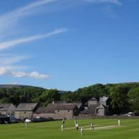 Cricket Match at Ingleton | John Millen