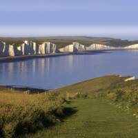 The stunning cliffs of the South Downs Way