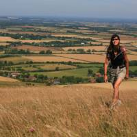 Summer walking on the South Downs Way