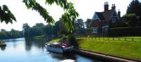 Boats leaving Shepperton Lock | John Millen