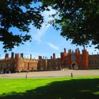 A long view of Hampton Court | John Millen