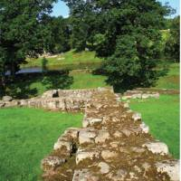 The wall at Chollerford