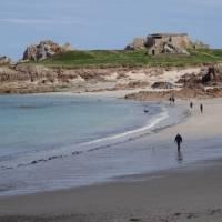 Fort across Saline Bay   John Millen
