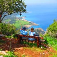 The viewpoint near Mouti tis Sotiras, Akamas   John Millen