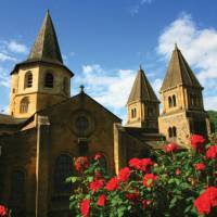 Church of St.Foy in Conques