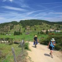 On the ridge towards Les Estrets