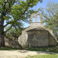 Ruins along the trails through Provence
