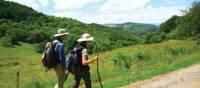 Walking towards Lamastre