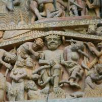 'Hell', The last Judgement, St.Foy, Conques