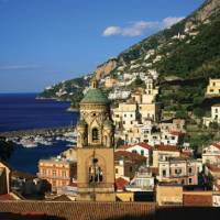 Amalfi, St.Andrew's Cathedral, town and Harbour