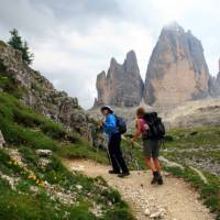Beside the Tre Cime, The Dolomites, Italy