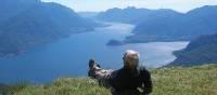 Above Lake Como