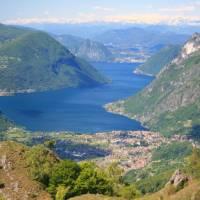 Stunning views over Lake Lugano, Como
