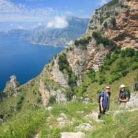 Hiking along the Sentiero degli Dei   John Millen