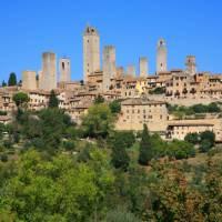 Looking towards San Gimignano | John Millen