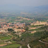 Looking over Spoleto