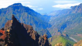 Looking into the Caldera, La Palma | John Millen