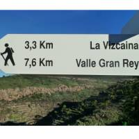 Follow the sign to Valle Gran Rey