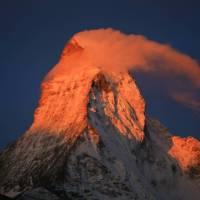 Matterhorn, alpenglow