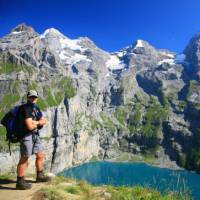 Above the Oeschinensee