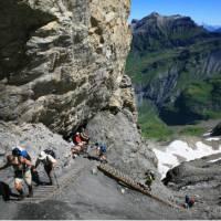 Over the Hohturli Pass   Jon Millen