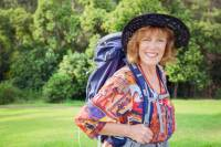 Author Mary Moody, Food Lover's French Way of St James trip escort