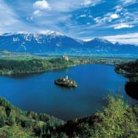 Views over Lake Bled