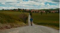 Walking on the southern section of Italy's Camino, the Via Francigena, is packed full of rewarding experiences. View tours: https://www.utracks.com/Camino/Via-Francigena View the Southern Tuscany from Siena walking tour: https://www.utracks.com/Italy/Self-Guided-Walking/Francigena-Way-Southern-Tuscany-from-Siena #ViaFrancigena #UTracksTravel #Italy ABOUT THE SOUTHERN TUSCANY FROM SIENA VIA FRANCIGENA WALKING TOUR Starting in the spectacular medieval city of Siena, which is well worth an extended stay, you will embark on a journey that leads you through the beautiful #Tuscan countryside, dotted with wonderfully preserved hilltop villages such as San Quirico and Rocca d'Orcia. Rolling hills, cypress-lined backroads and the 'Crete Senesi' - an area south of #Siena where grey crags create a lunar-like landscape - will be the perfect backdrop to your #walk. The important historical context of the region and the astonishing beauty of the landscapes you walk through, combine to make this trip completely unforgettable. Find the Southern #Tuscany from Siena #Walking #Trip information here: https://www.utracks.com/Italy/Self-Guided-Walking/Francigena-Way-Southern-Tuscany-from-Siena Or discover other ways #UTracks lets you explore the Via #Francigena here: https://www.utracks.com/Camino/Via-Francigena ABOUT UTRACKS UTracks have over 450 trips across the active #travel spectrum: from relaxed cycling in the Loire Valley, to discovering iconic #Camino trails, to challenging hikes around Mont Blanc. Walking or cycling, 2-star or 4-star, small group or self guided, land, river or sea - UTracks can help you #explore #Europe exactly the way you want. Learn more at https://www.utracks.com/ Stay in touch with UTracks: https://instagram.com/utrackstravel https://twitter.com/UTracks_Travel https://www.facebook.com/UTracks https://www.pinterest.com.au/utracks/ https://www.utracks.com/blog https://www.youtube.com/user/UTracksTravel
