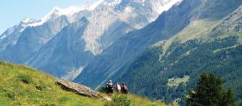 Hikers in the Zermatt Valley, Switzerland | Sarah Higgins