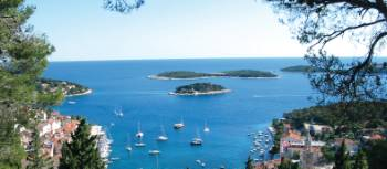 The island of Hvar is a highlight on our Croatia Bike & Sail trips