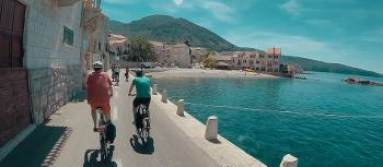Cycling along the coastline in Croatia | Tim Charody