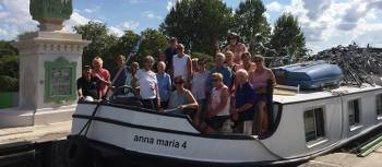 Group on the Loire Valley Bike & Barge | Joycee Smith