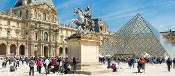 Visit world-famous art at the Louvre in Paris
