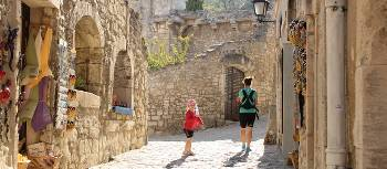 Exploring the town of Les Baux de Provence | Philip Wyndham