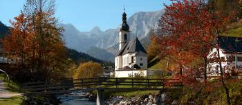 The picturesque Bavarian countryside